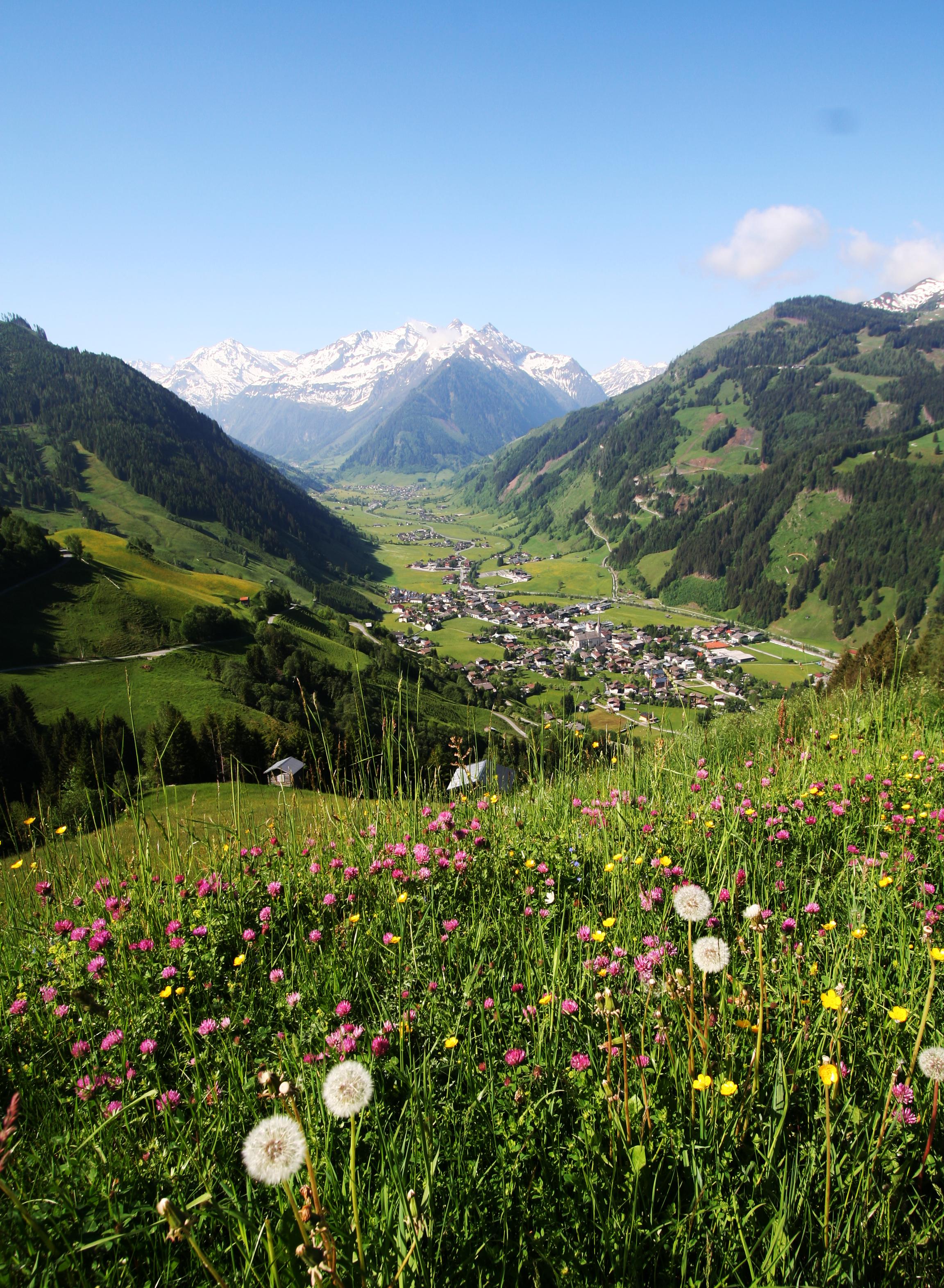 Raurisertal lente de Berghut Rauris Oostenrijk
