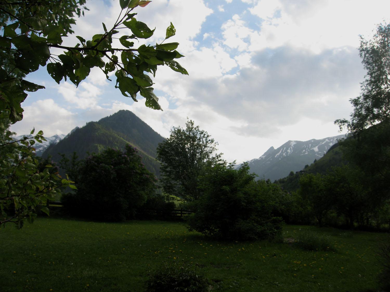 Uitzicht de Berghut Rauris Oostenrijk