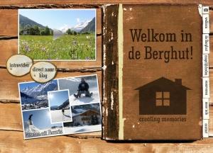 website de Berghut Rauris Oostenrijk