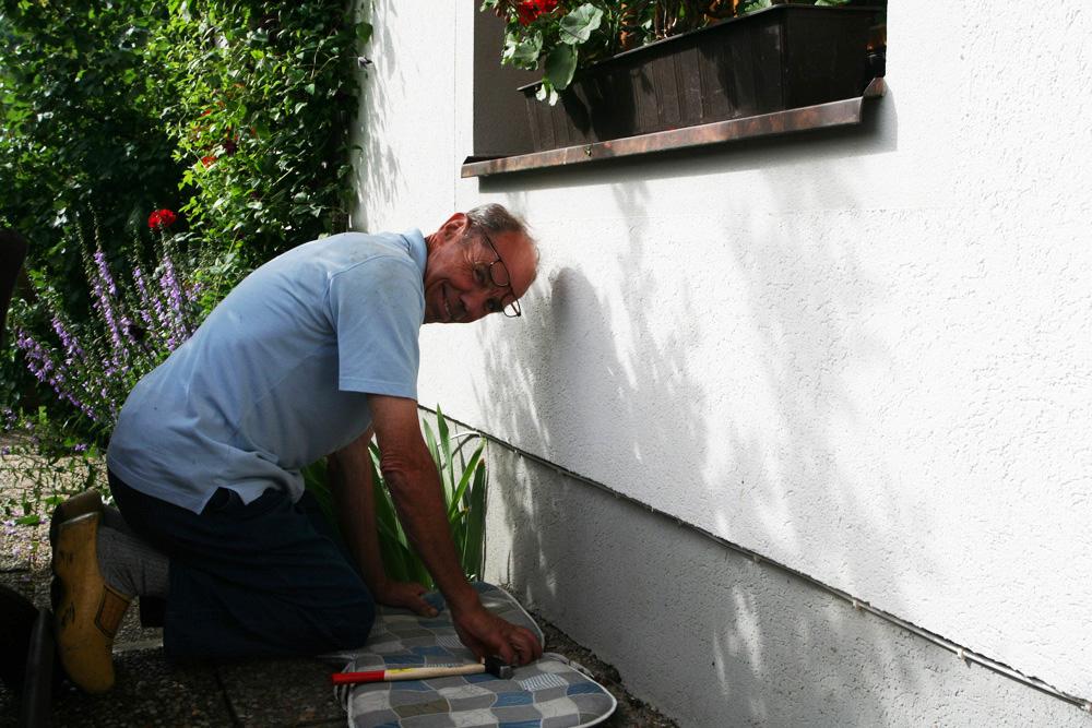 Jan internetkabel de Berghut Rauris Oostenrijk bergwandelen