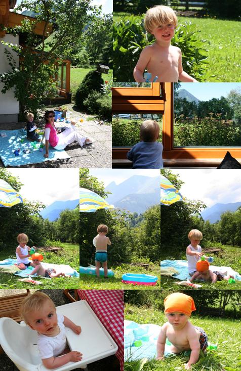 lolbroeken de Berghut Rauris Oostenrijk vakantie kinderen