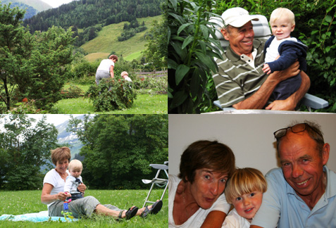 mama en Jan de Berghut Rauris Oostenrijk zomer wintersport