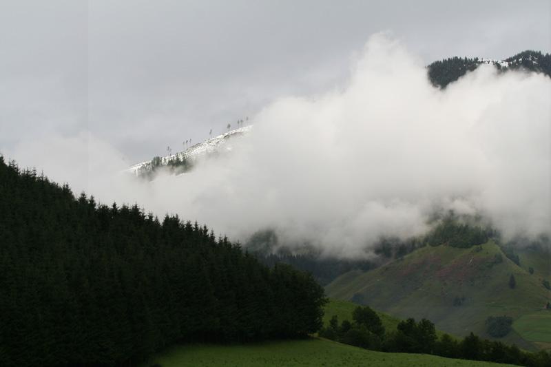 Sneeuw Oostenrijk Rauris de Berghut 18 juli