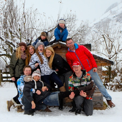 Berghutteam winter 2013